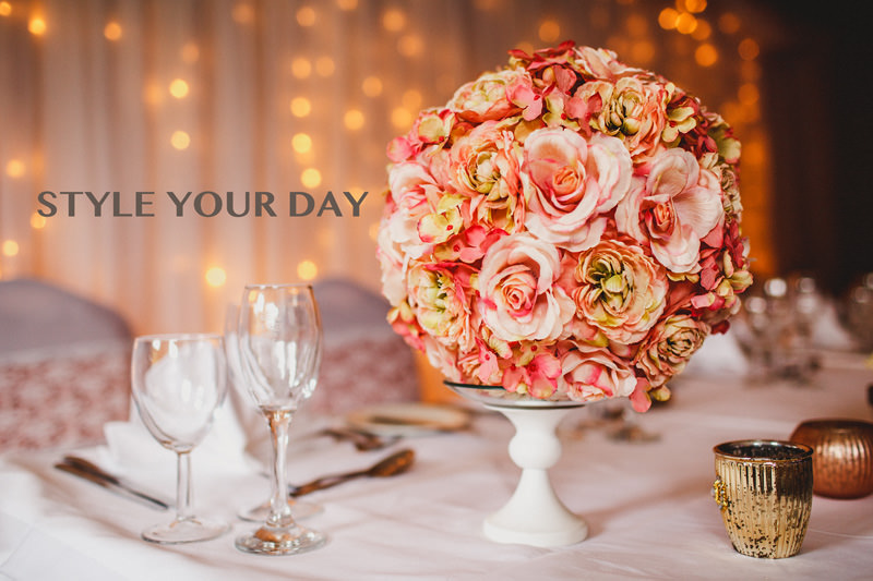How to style your wedding day