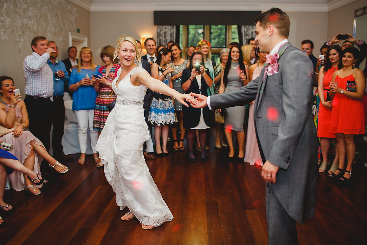 Foxhill Manor First dance photo