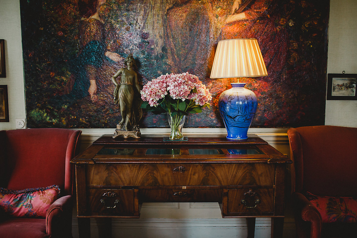 Poundon House drawing room