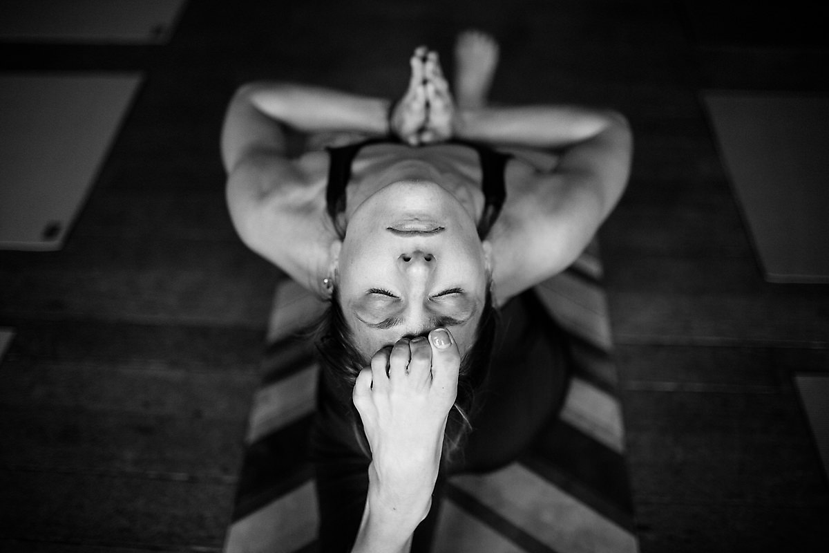 Yoga Retreat poses idea