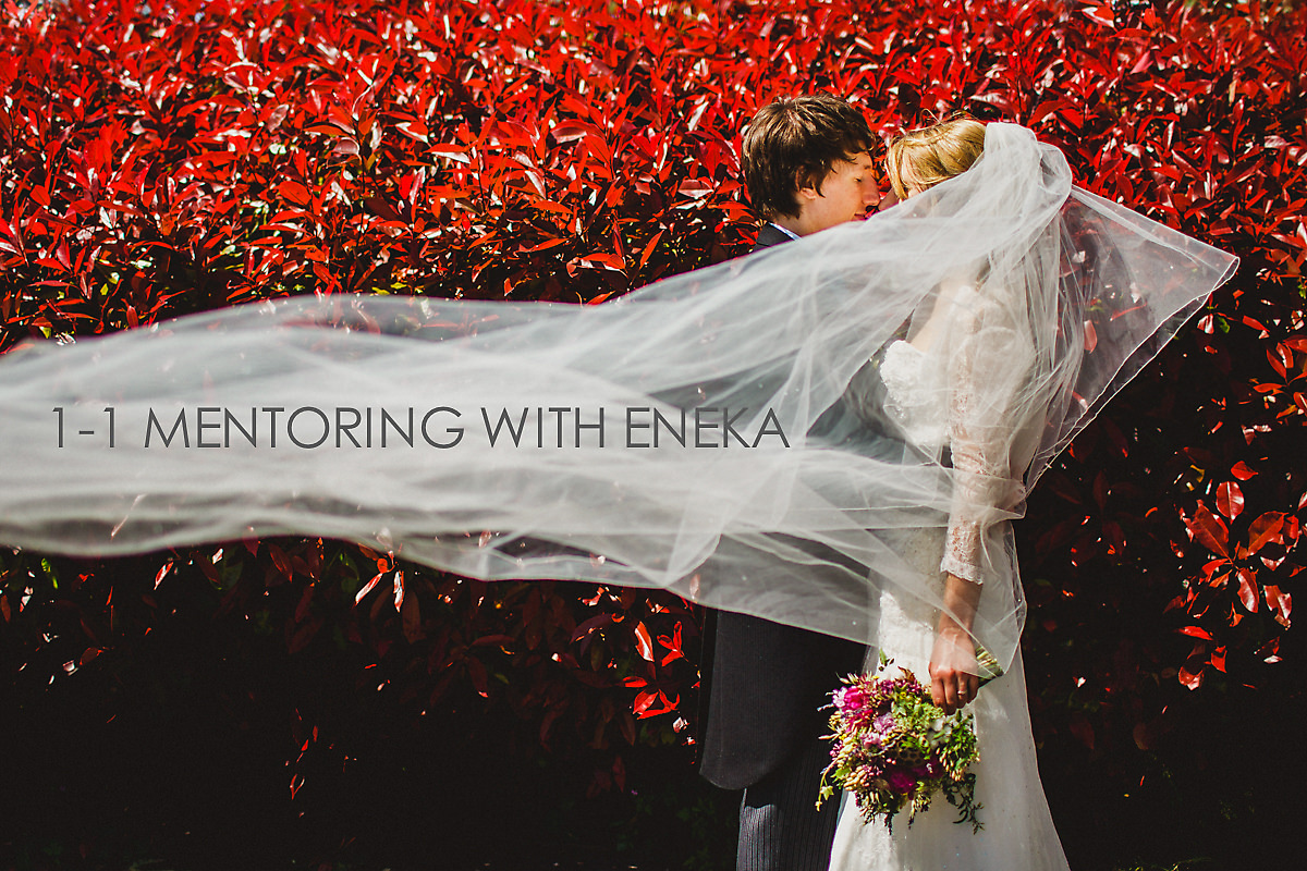 Photographer mentoring with Eneka
