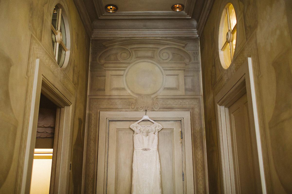 Kensington Blakes Hotel bridal suite photo