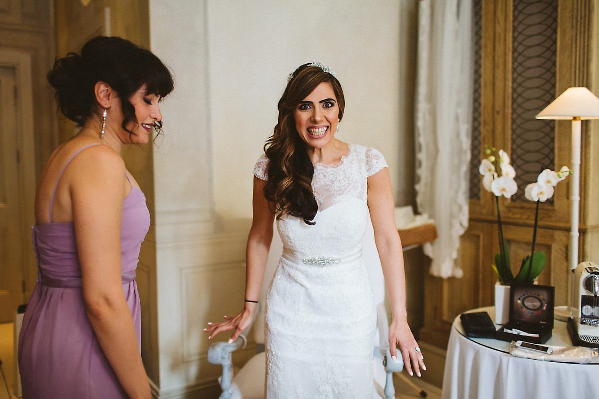 Bridesmaids at Blakes Hotel