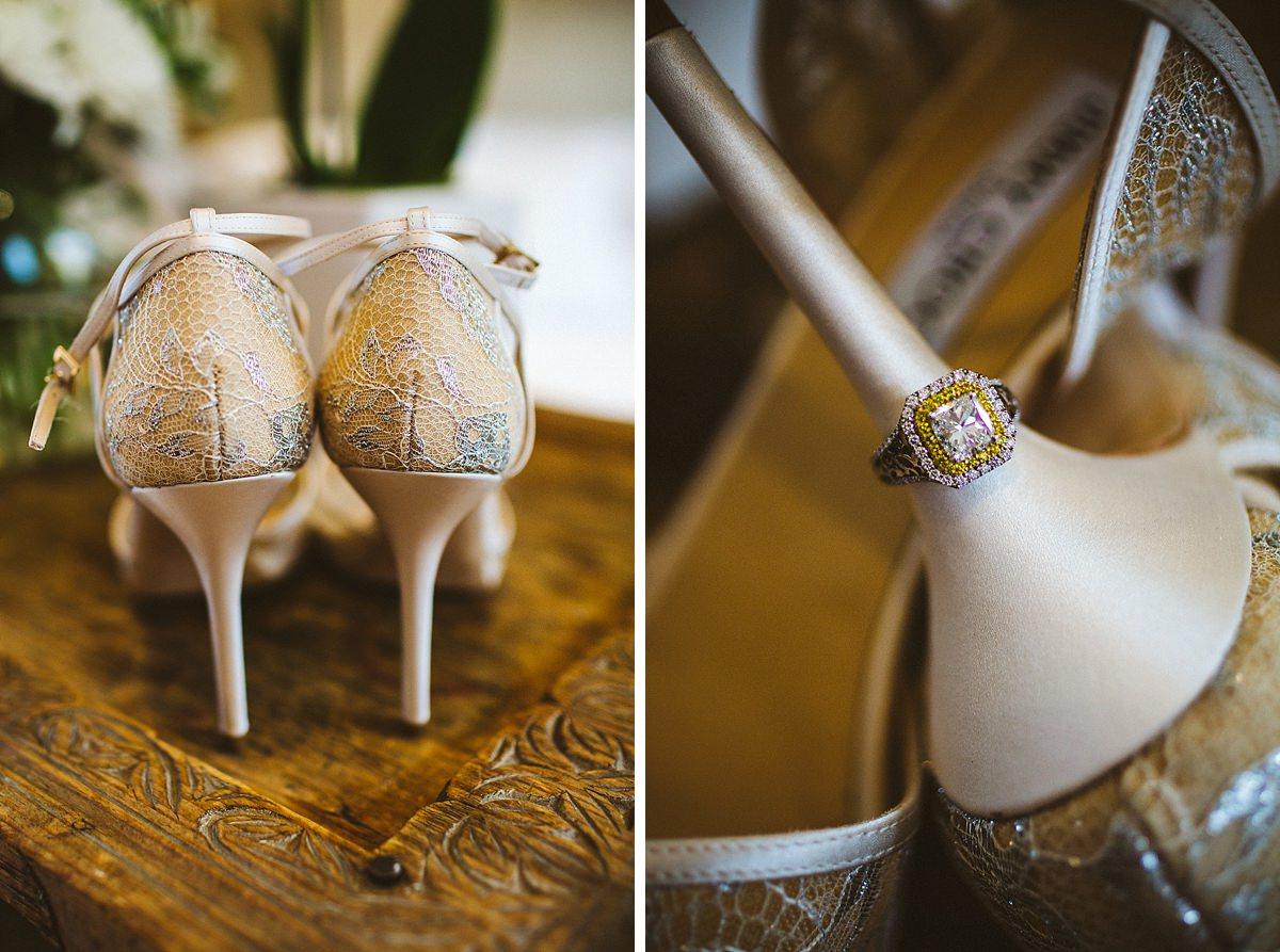 Ivory wedding shoes London