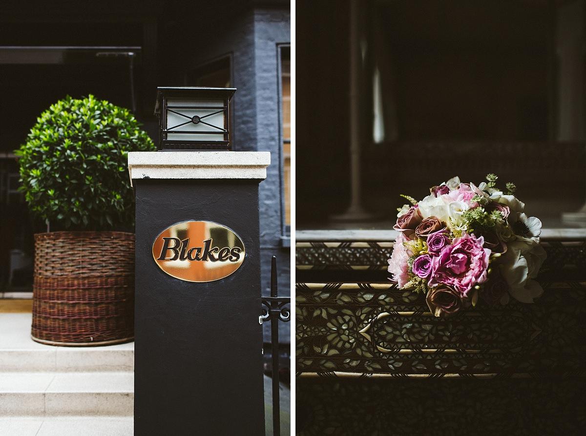 Blakes Hotel bridal suite