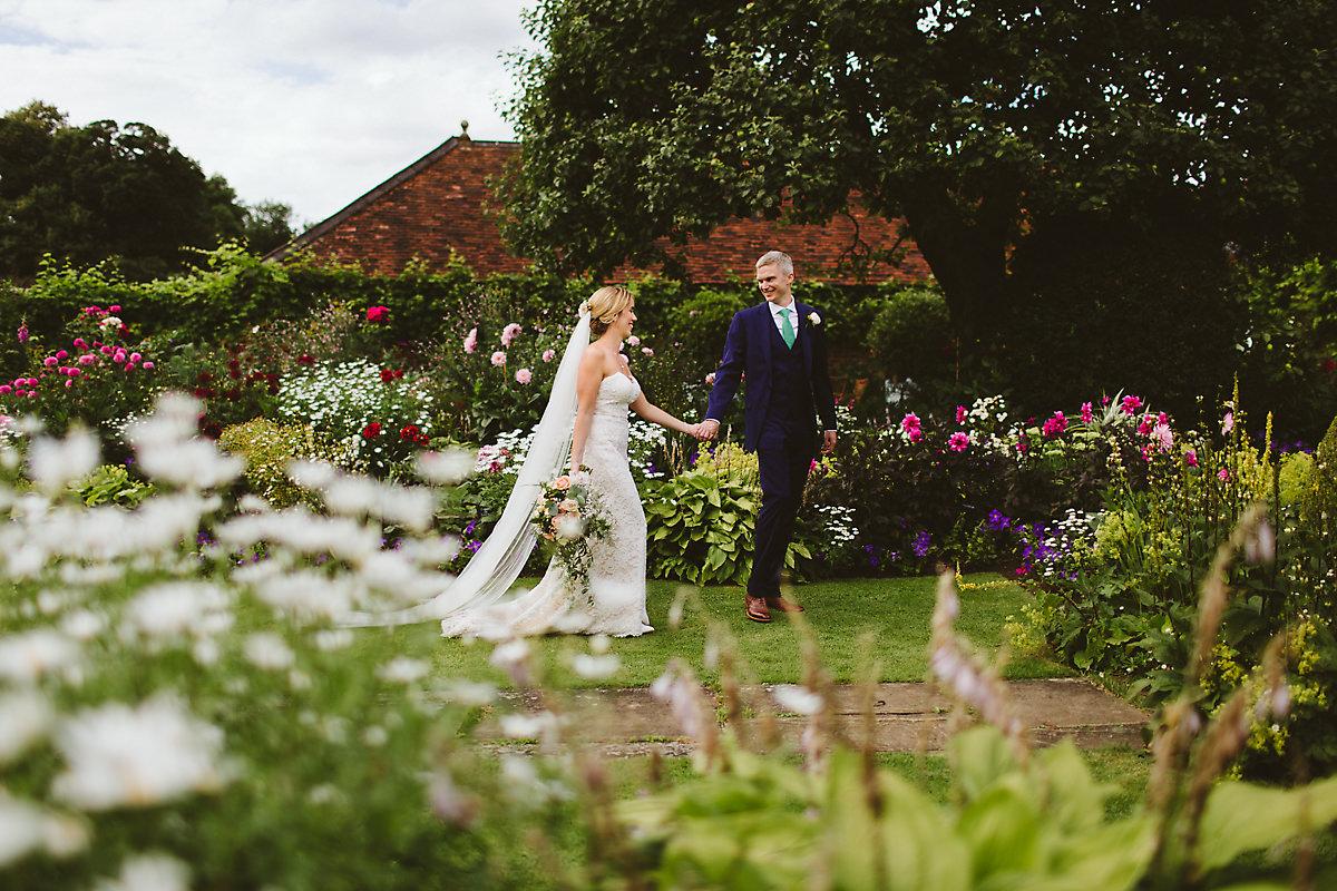 Chenies Manor wedding portrait photographer