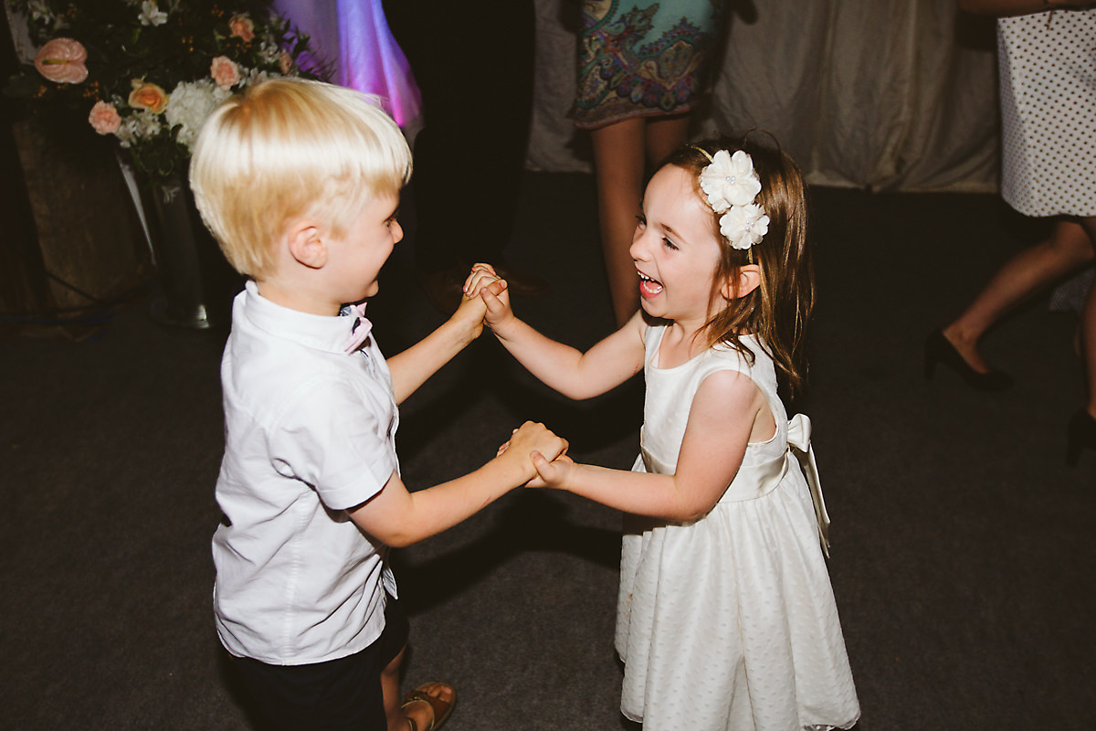 Chenies Manor Wedding party