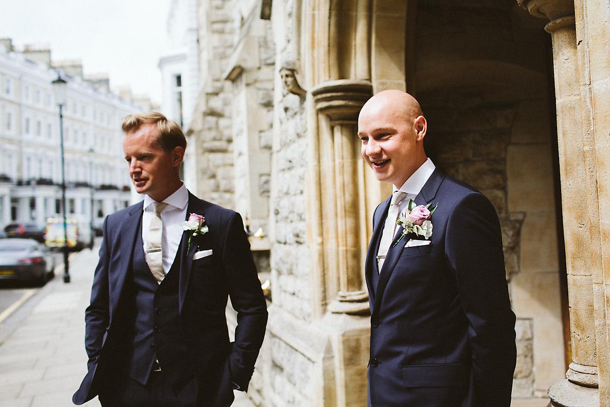 Best man and groom Kensington