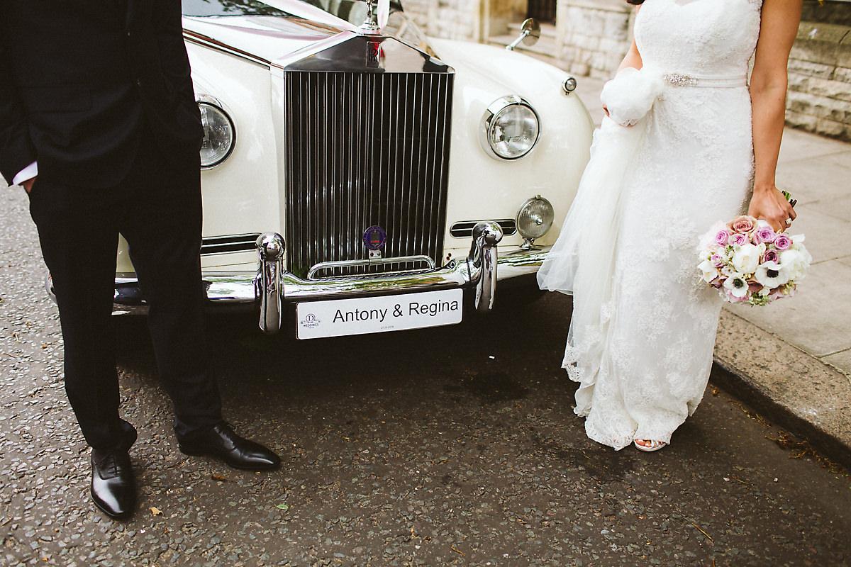 Rolls Royce wedding car Kensington