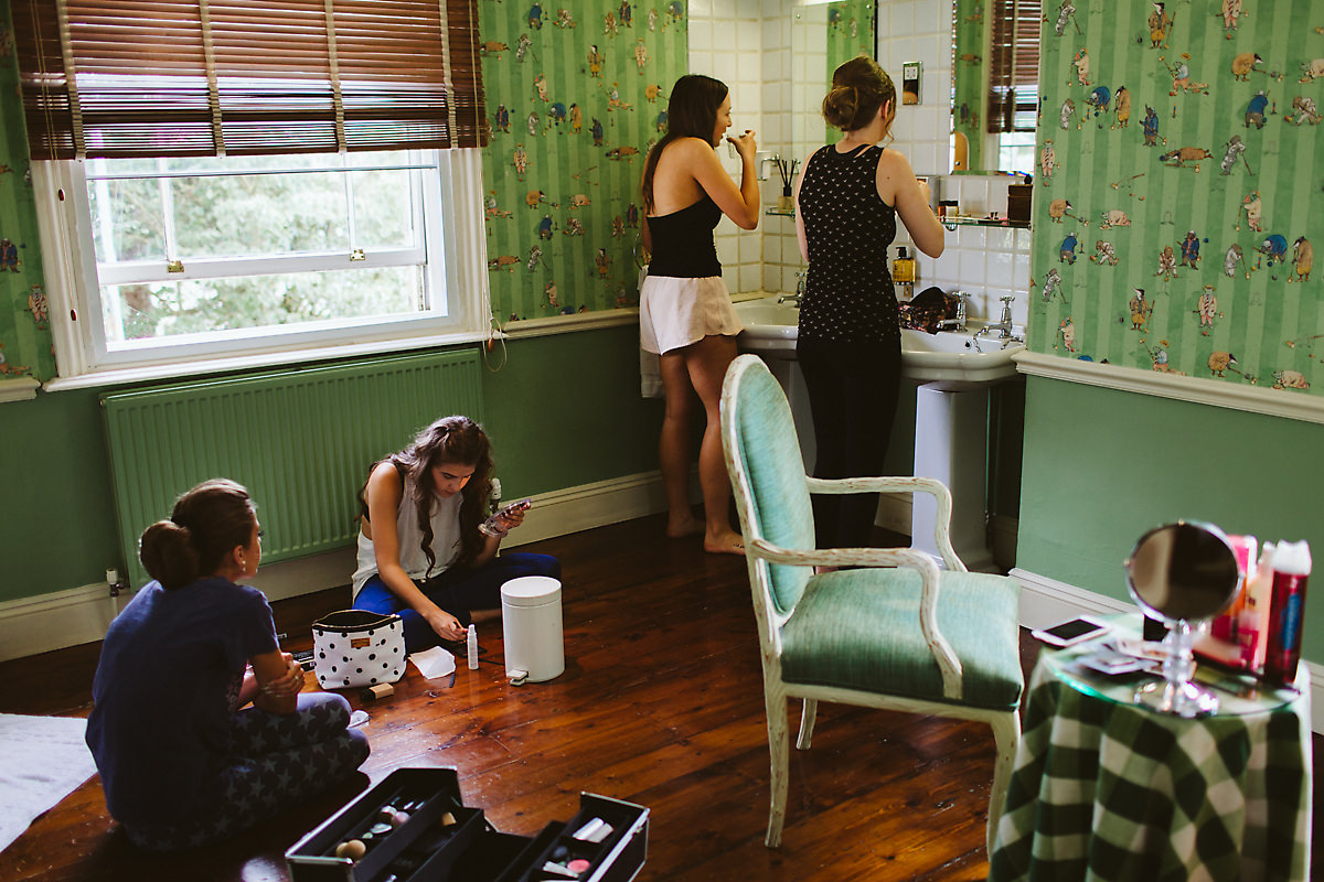 Old Bridge Hotel bridal prep