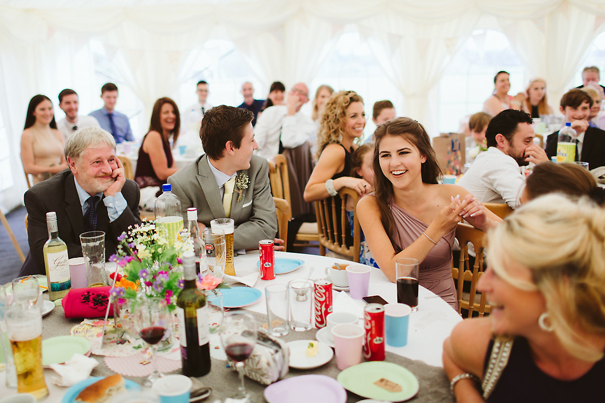 Wedding guests Chatteris