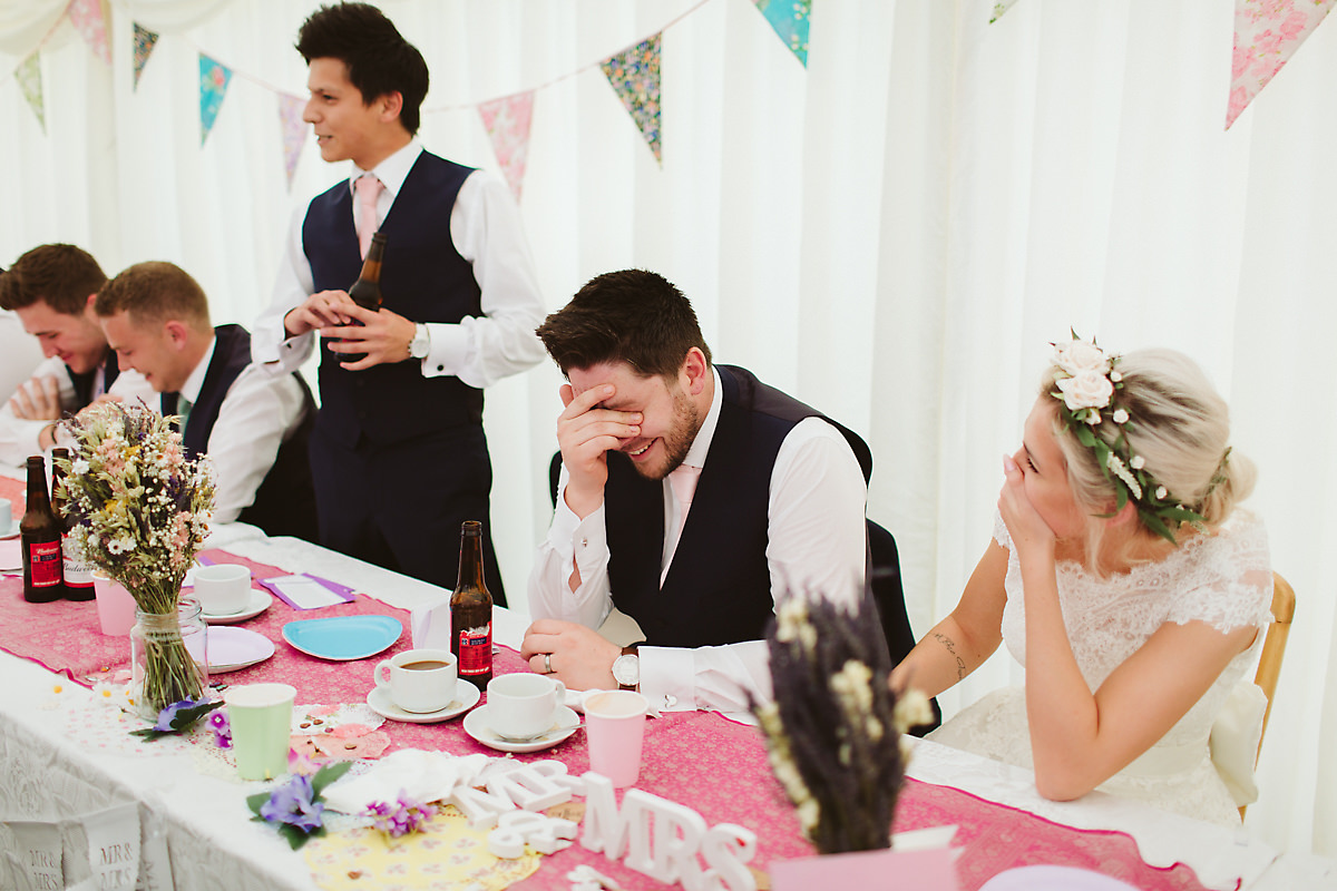 Best man wedding speech photo