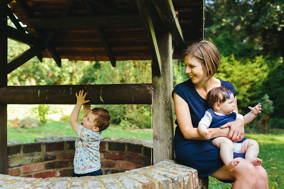 Horwood House family portrait photography