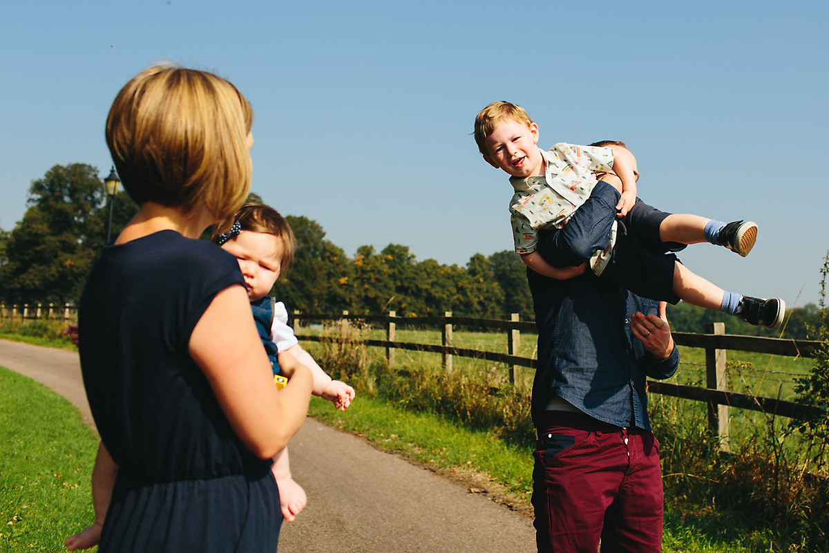 Fun Buckinghamshire family portraits