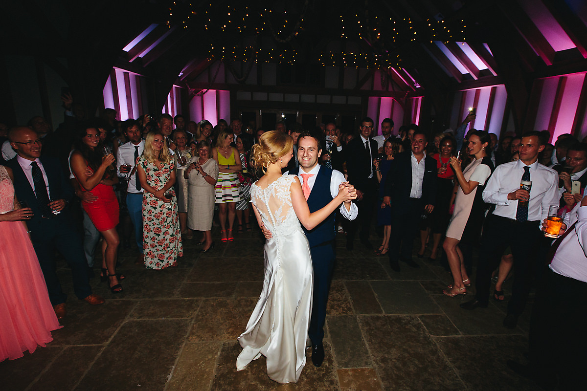 First dance at Brookfield Barn