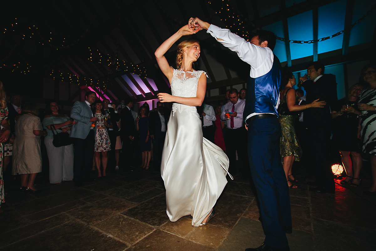 Fun first dance photography