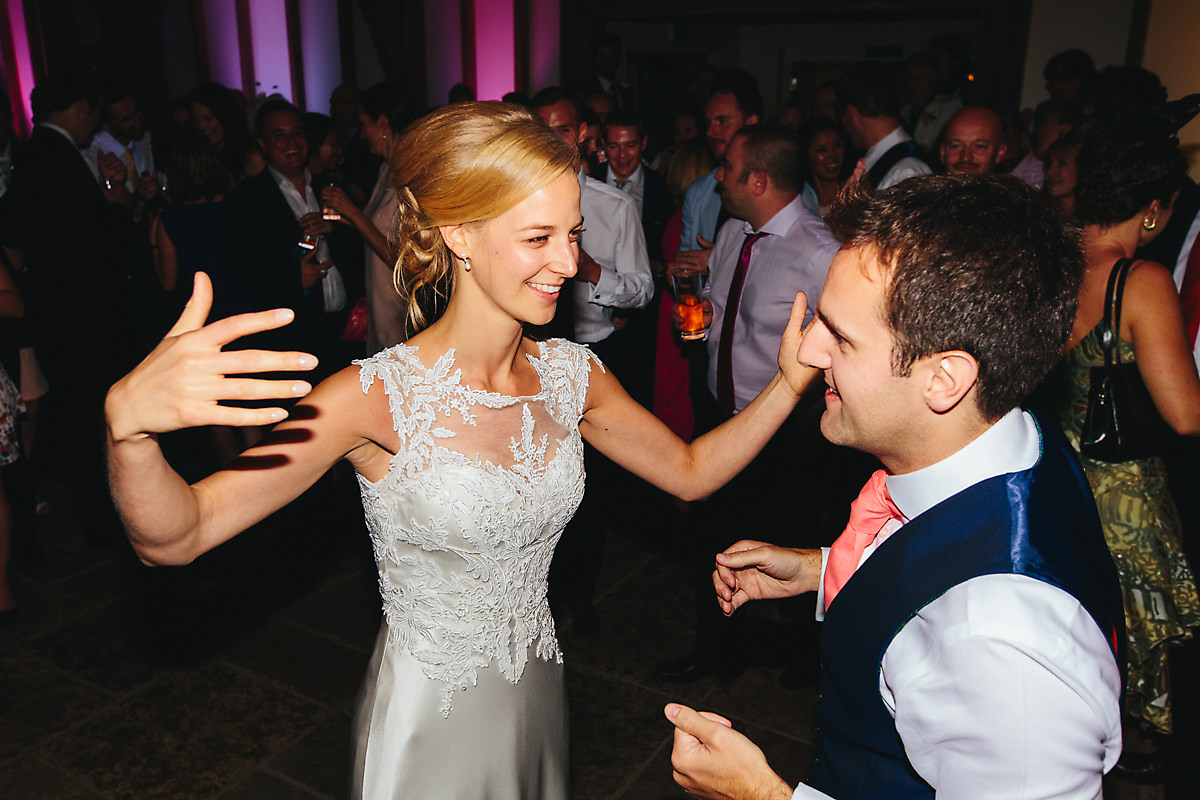 First dance at Brookfield Barn photography