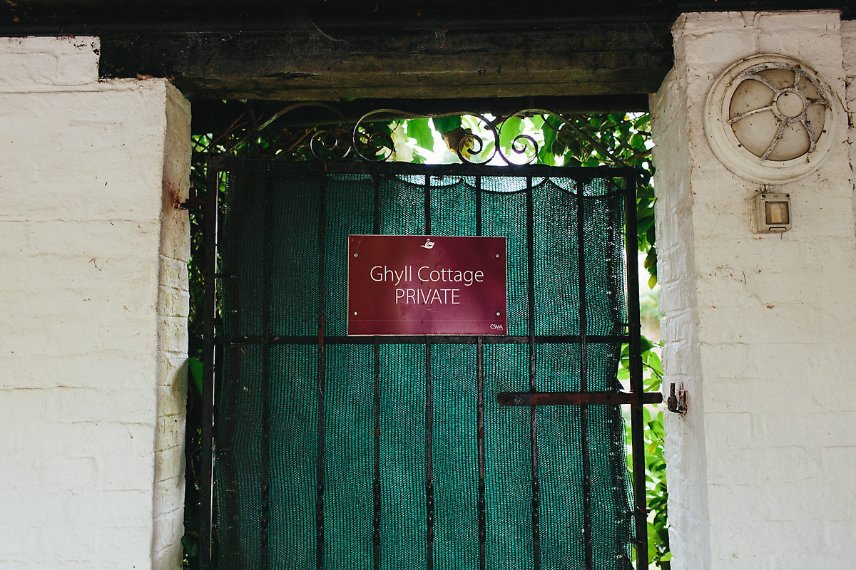 Ghyll Cottage gate