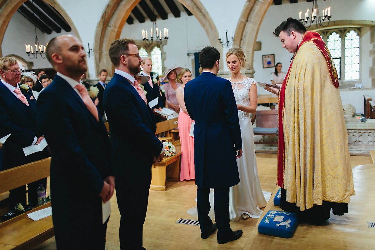 West sussex wedding ceremony