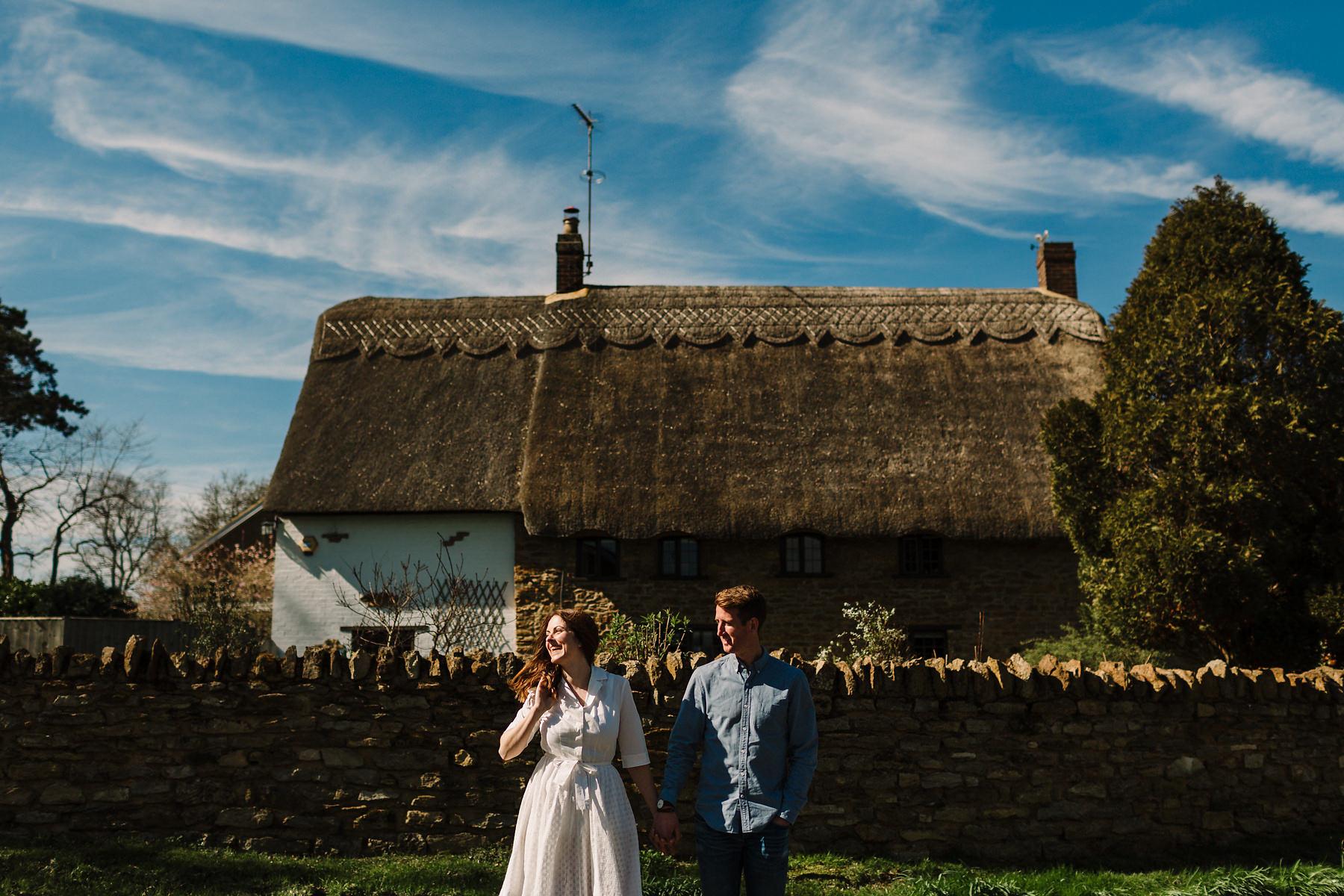 Outdoor pre wedding photos Northamptonshire