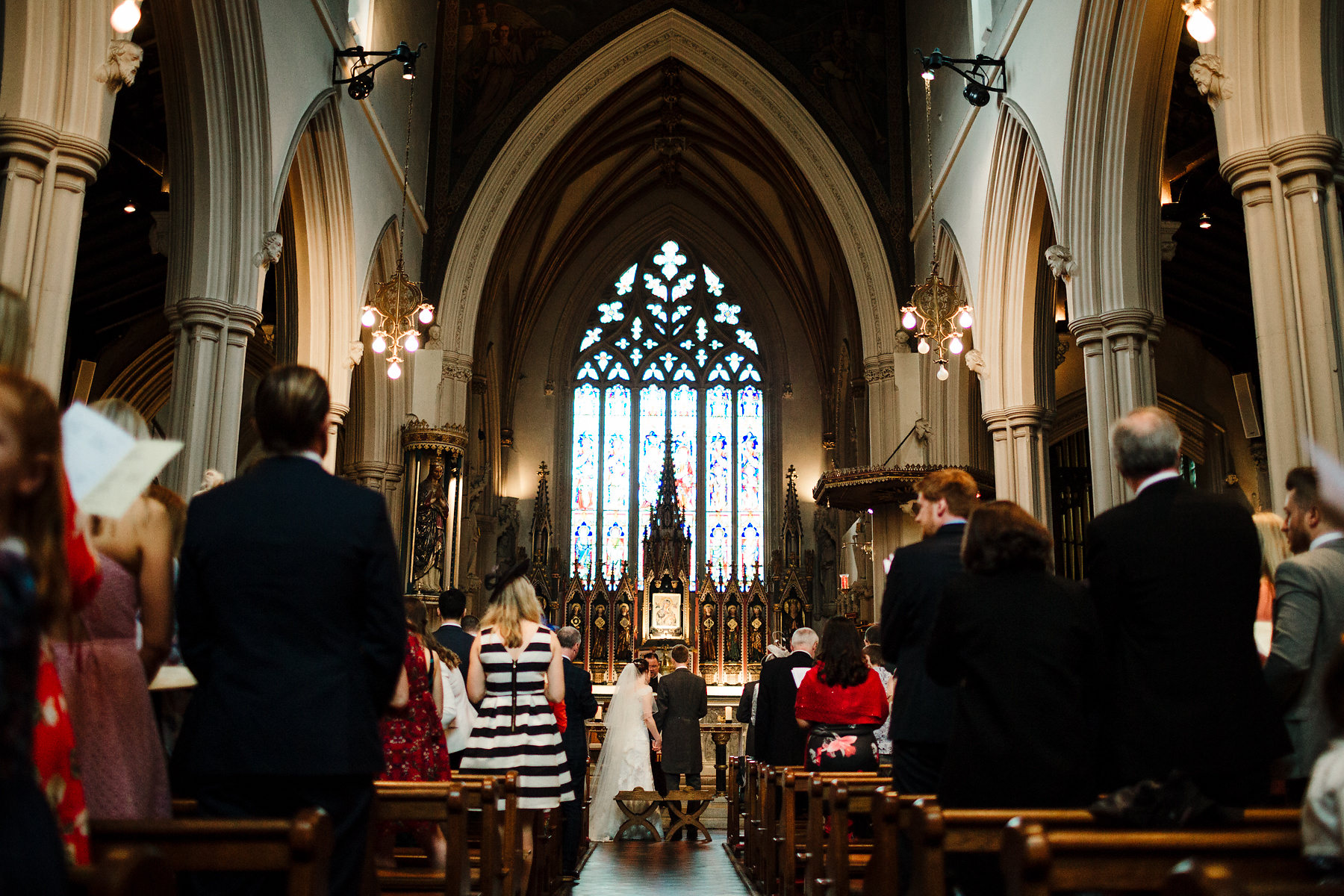 Clapham Common church wedding photography
