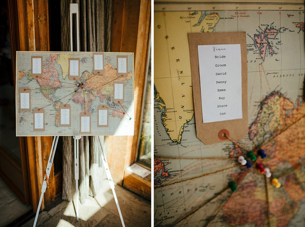 World map stationary photography
