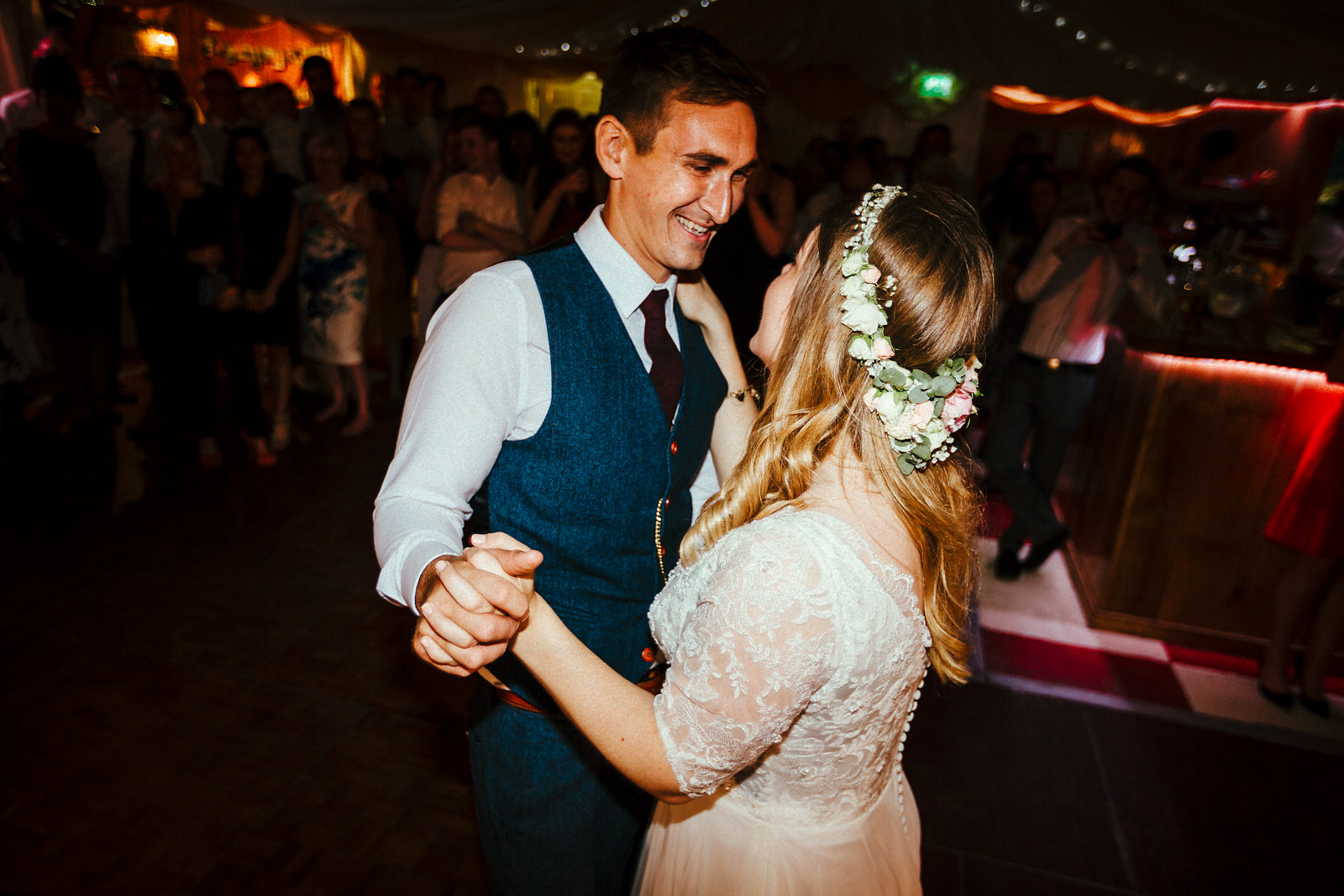 First dance photo Notley Tythe Barn
