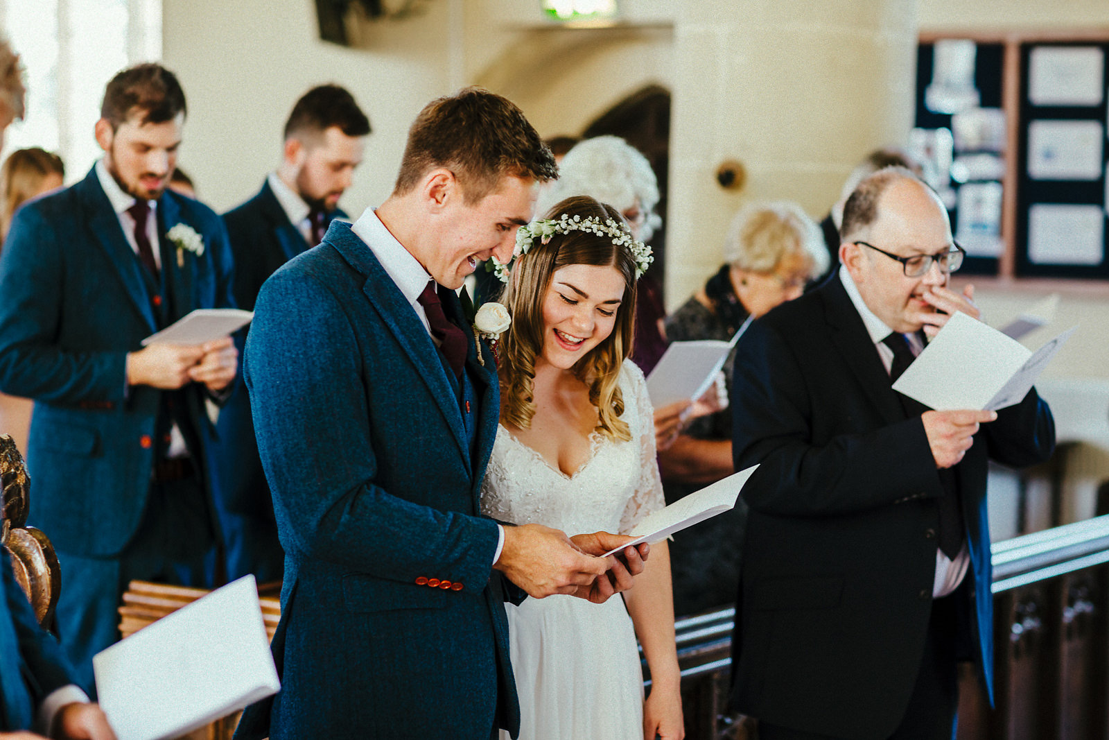 First hymn at wedding ceremony