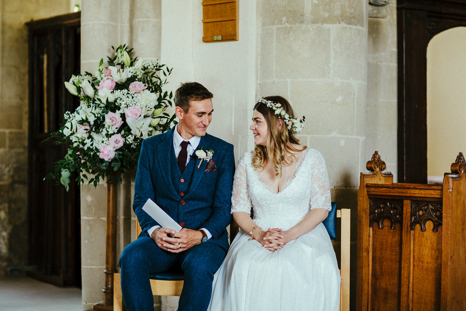 Haddenham St Mary's church ceremony