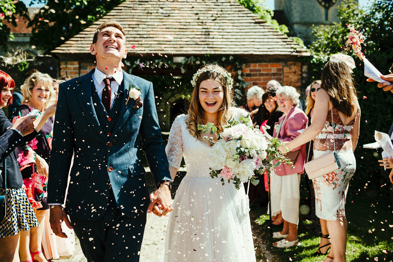 Buckinghamshire barn wedding photographer