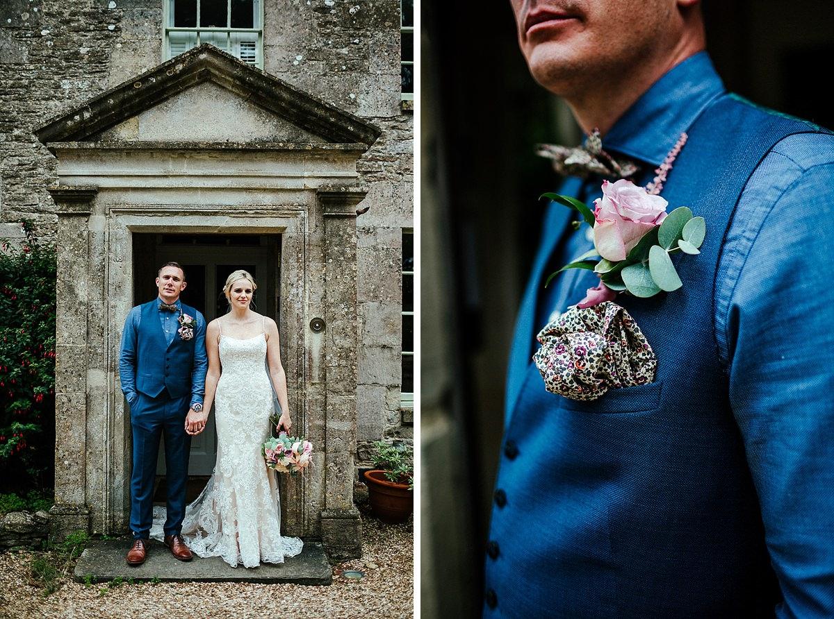 Fun Tetbury wedding photography