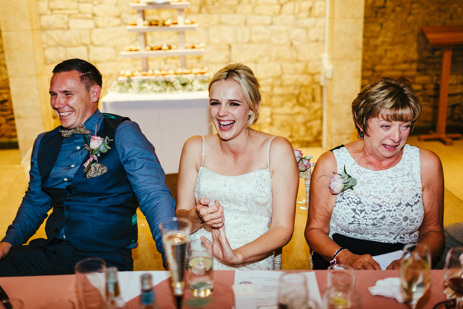 The Great the barn wedding speeches