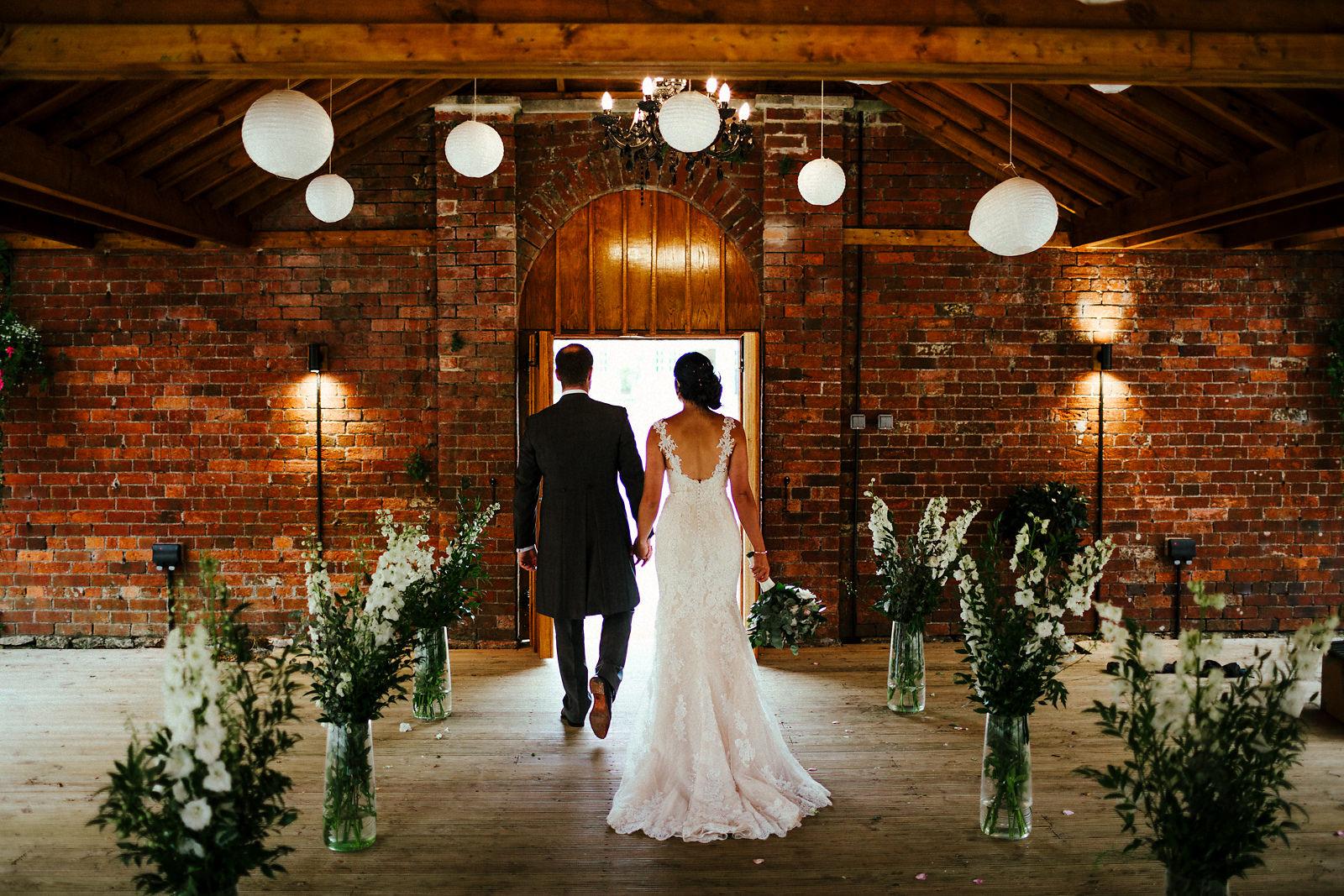 Orchardleigh Walled Garden wedding photography