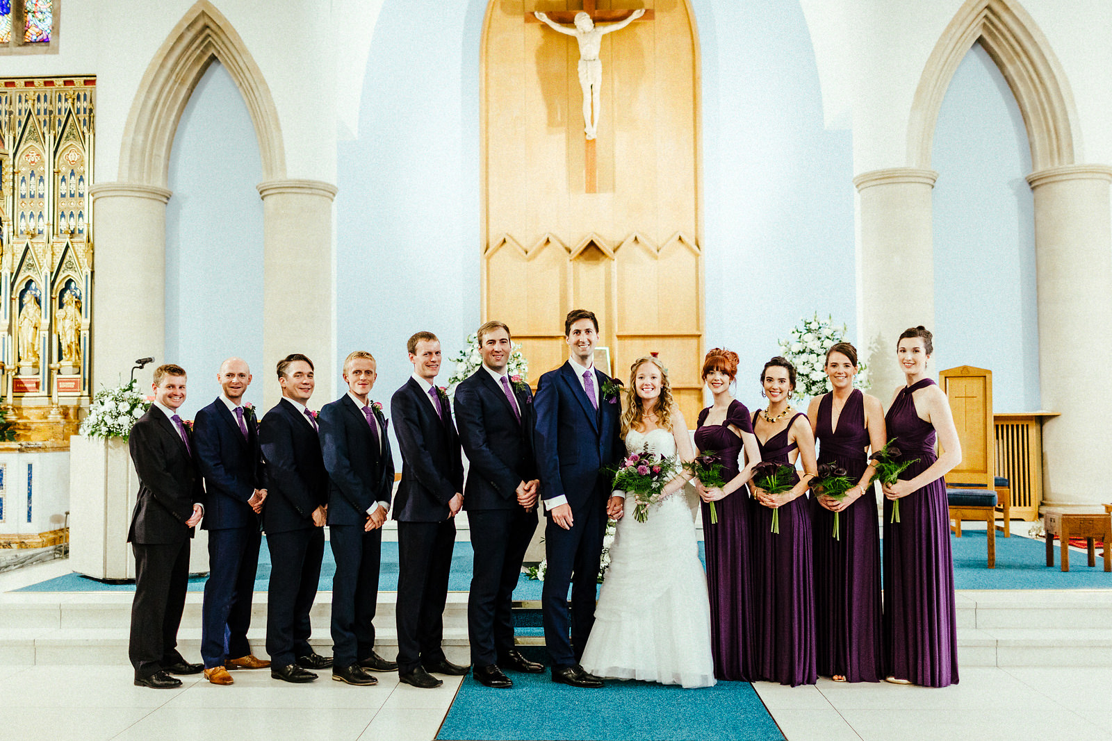 St Joseph's catholic church wedding ceremony