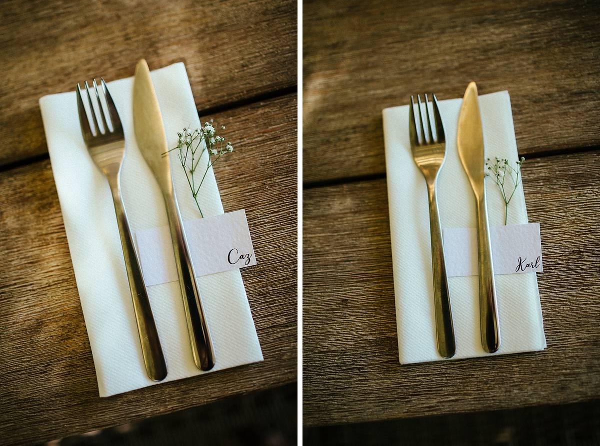 Beautiful rustic wedding table decoration