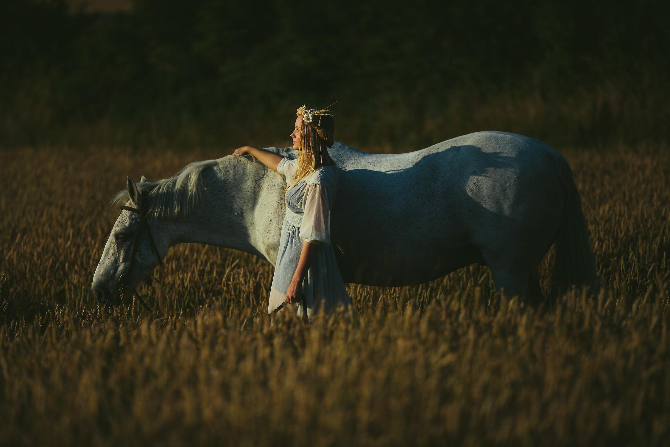 Creative female portrait photographer