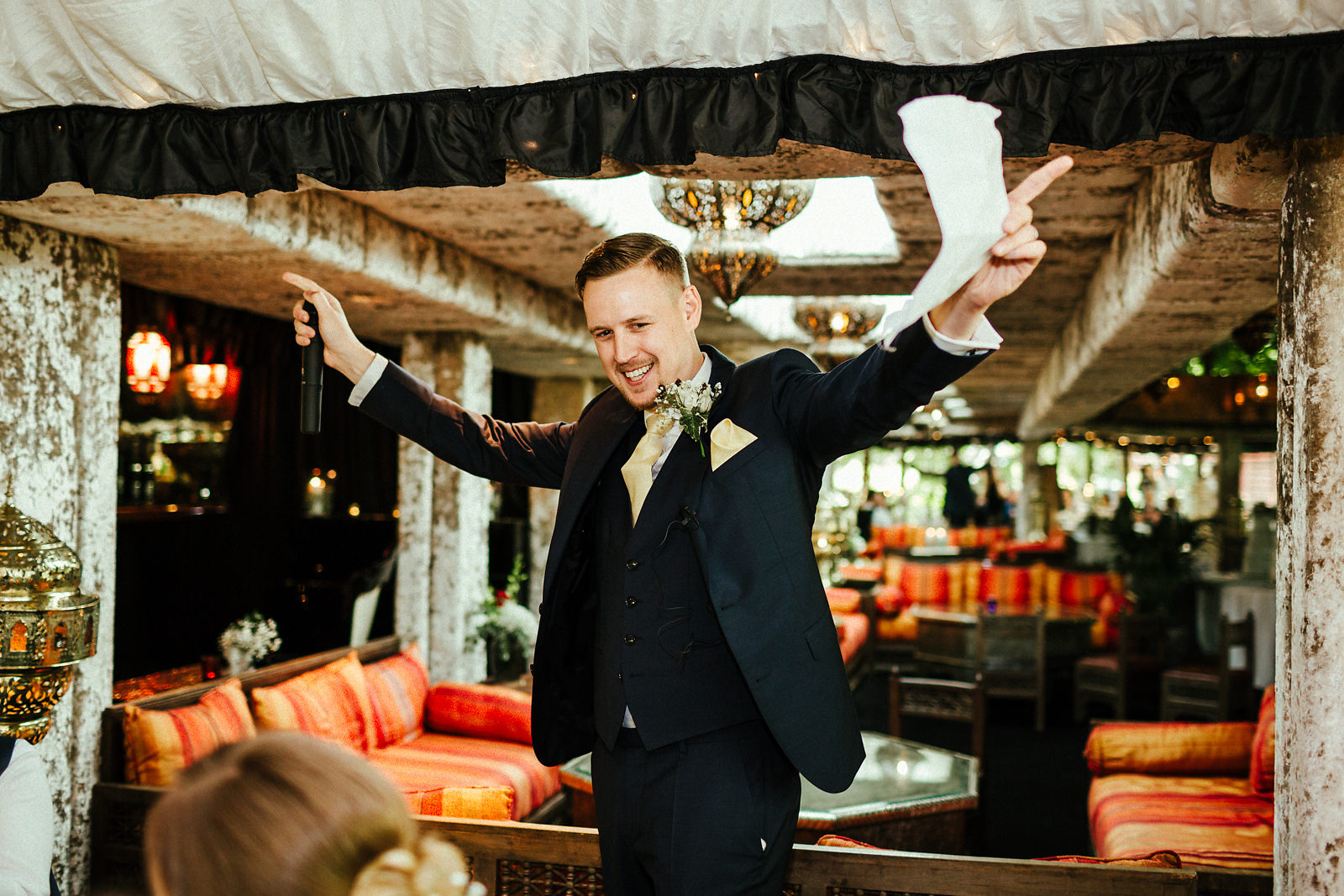 Smashing grooms speech