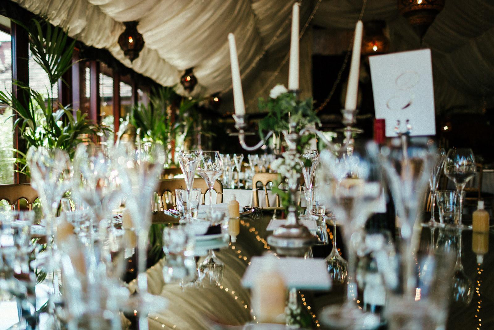 Crazy Bear Wedding Table Decoration Phtoos
