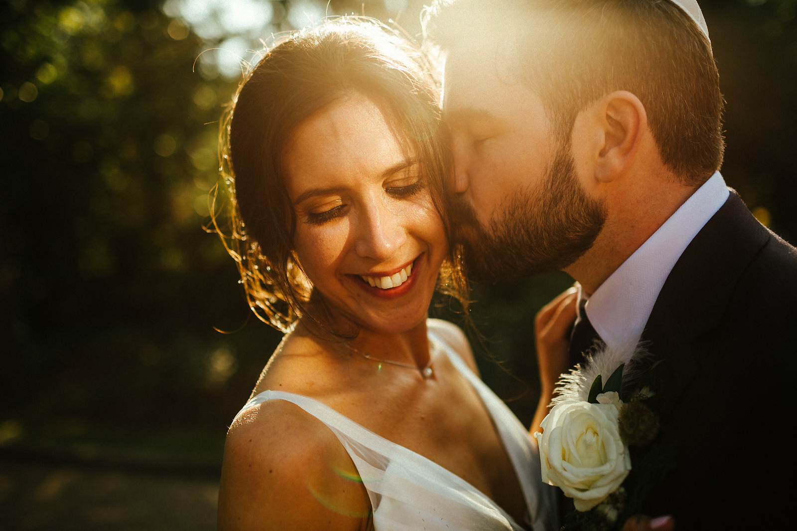 August wedding portraits