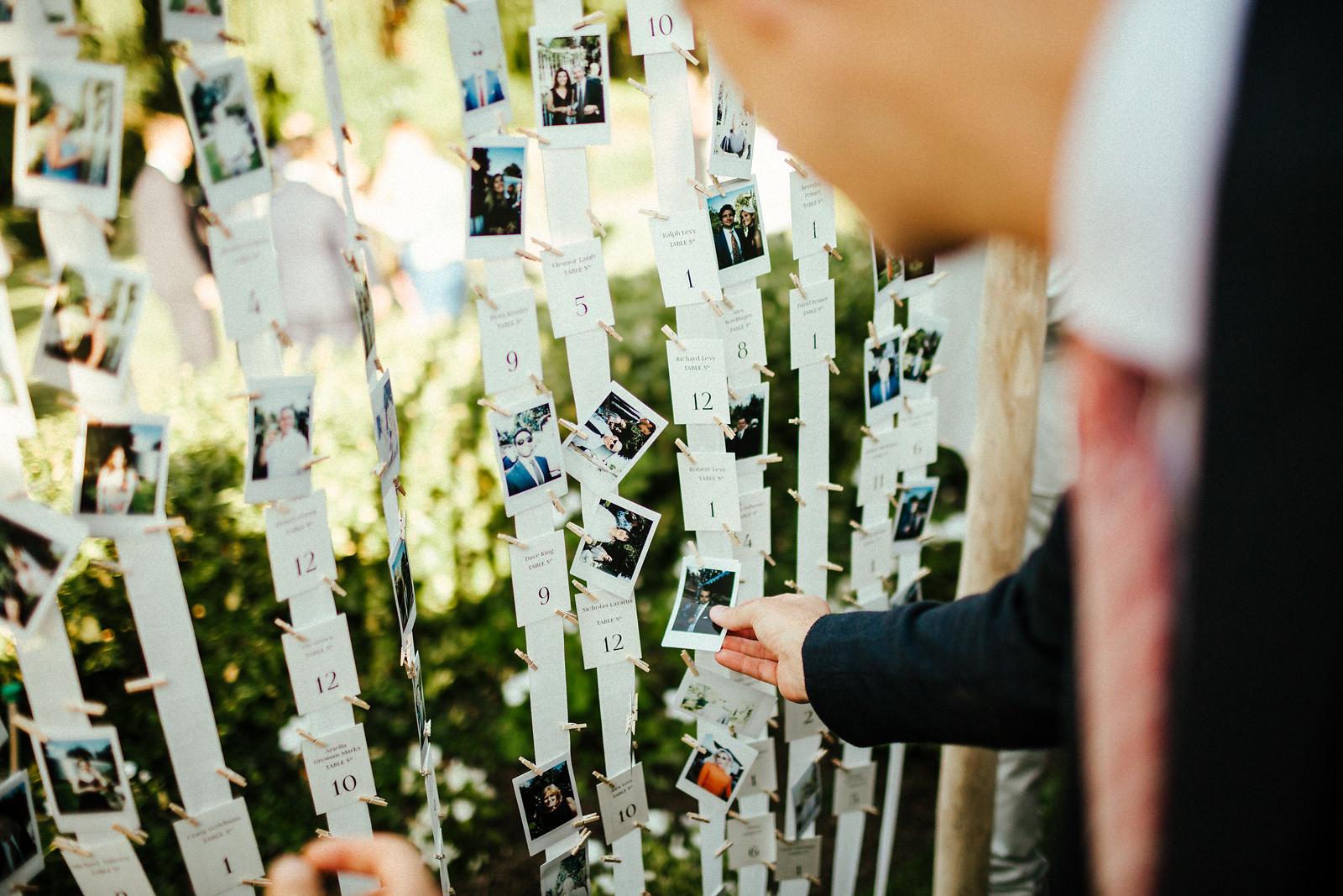 Creative wedding table ideas
