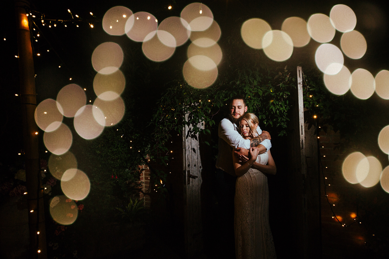 Best wedding portrait at The Copse Wedding Venue