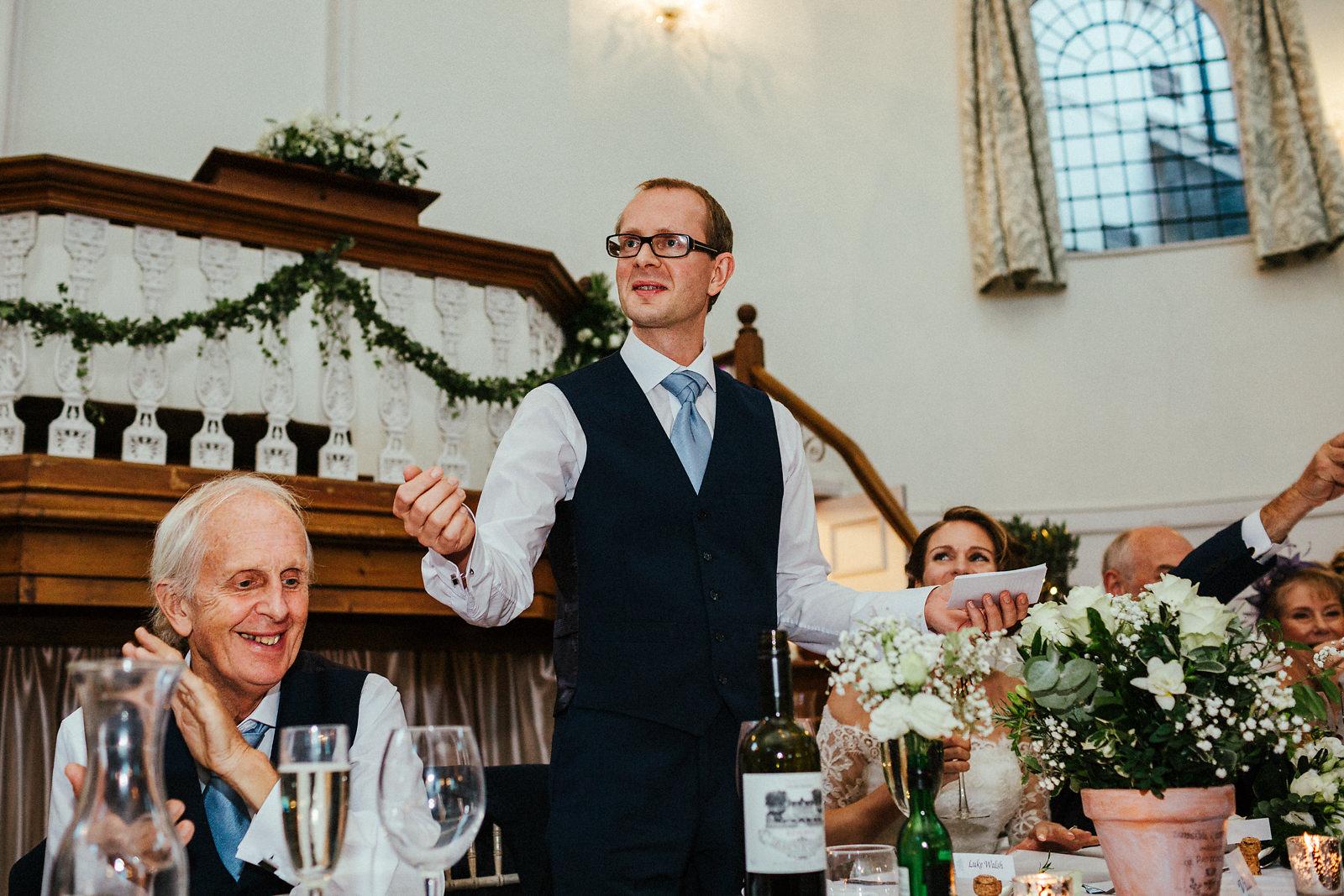 Best grooms speeches
