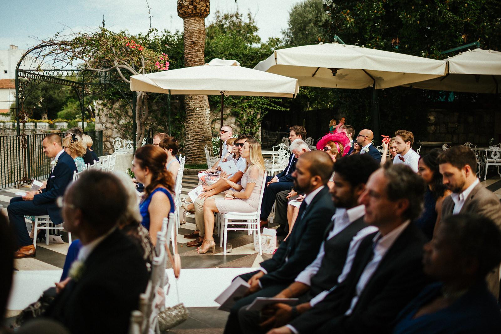 Guest at Villa Antiche Mura in Sorrento
