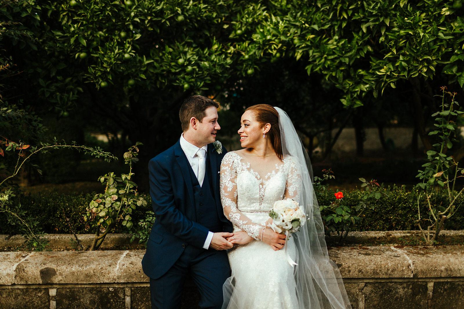 Villa Antiche Mura Sorrento Wedding Photographer
