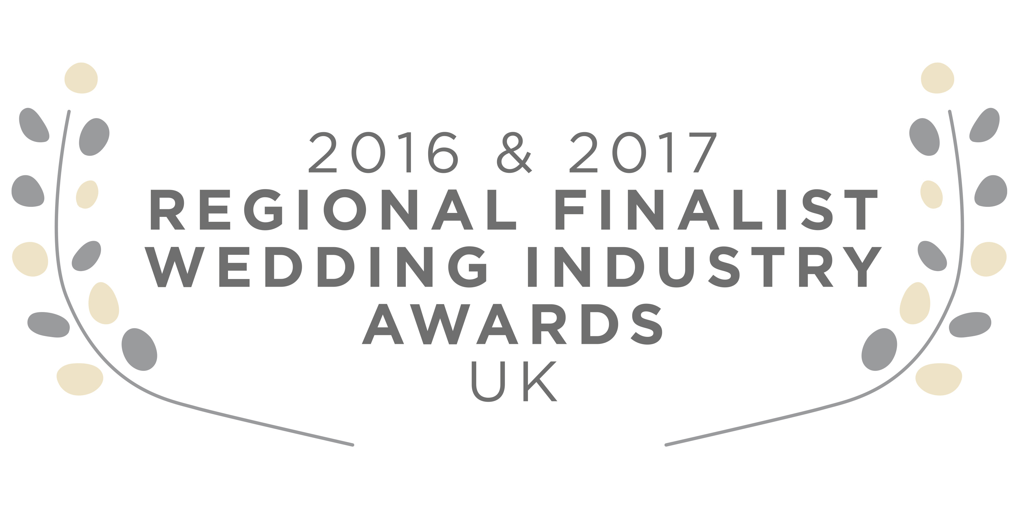 UK Wedding Industry Awards Finalist