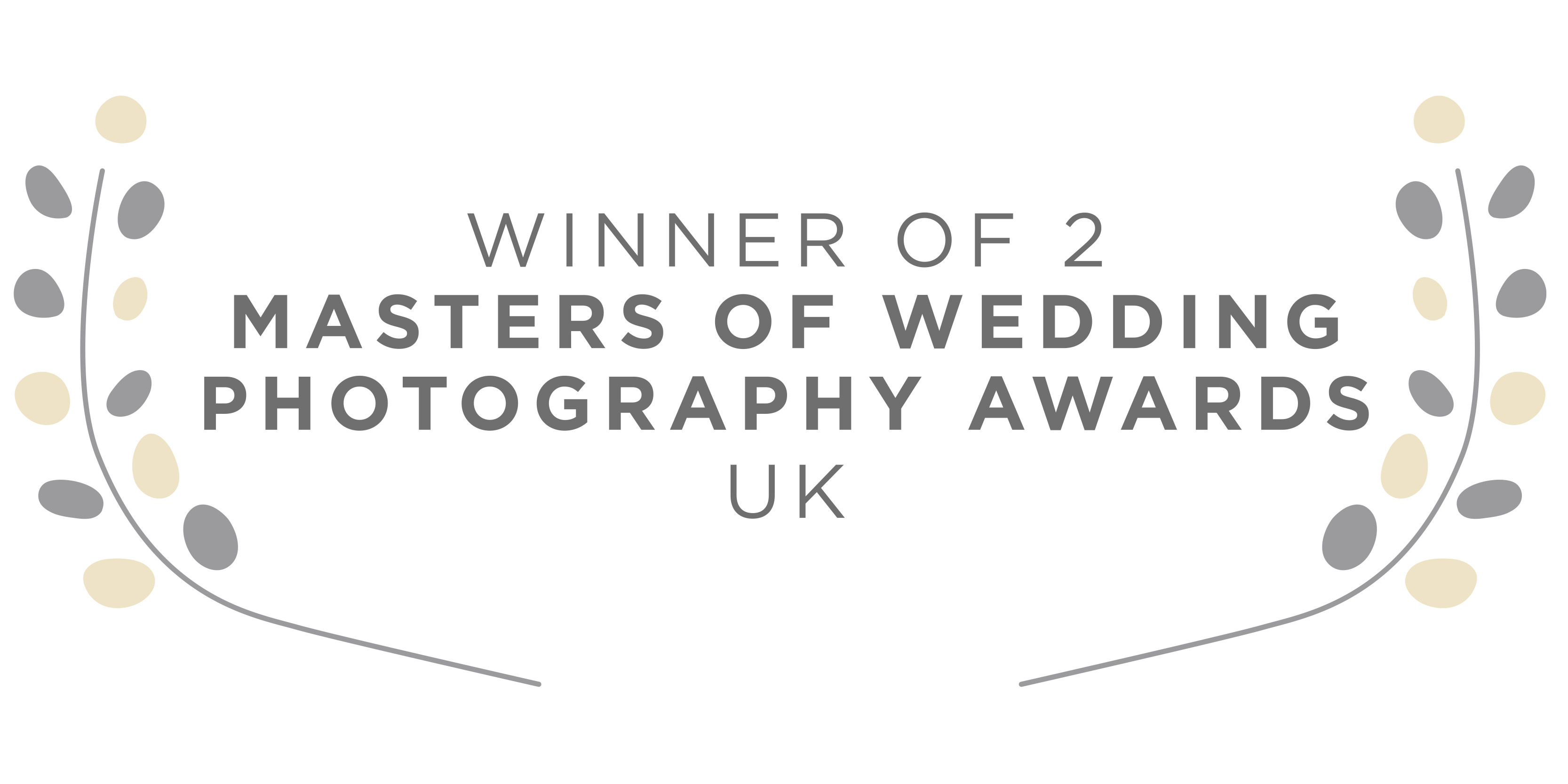 UK Masters of Wedding Photography Awards Winner