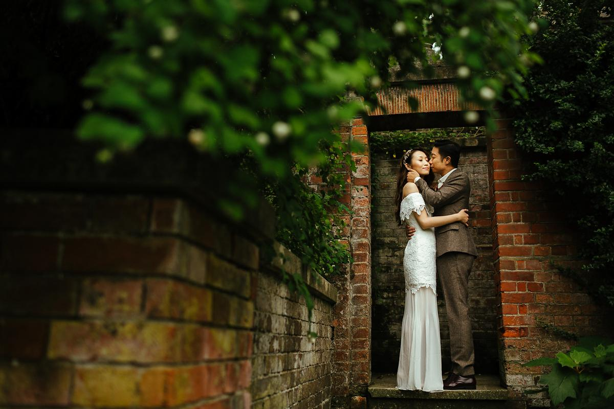 Hampstead Heath Pre-wedding photographer