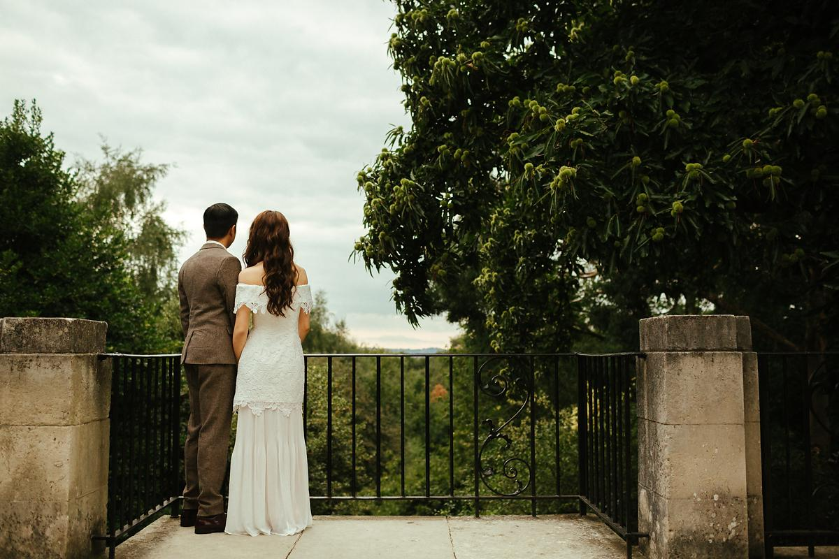Natural London pre-wedding photography