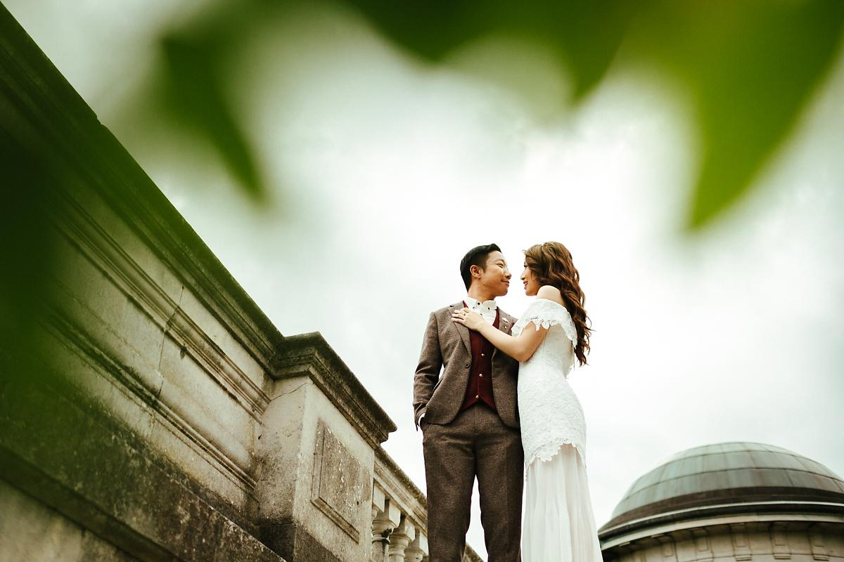 Pergola Pre-Wedding Photography