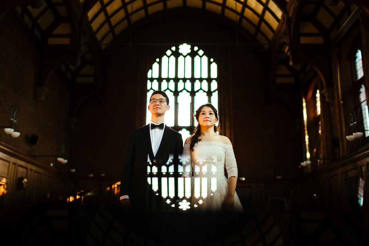 Romantic Cambridge Pre-wedding photography
